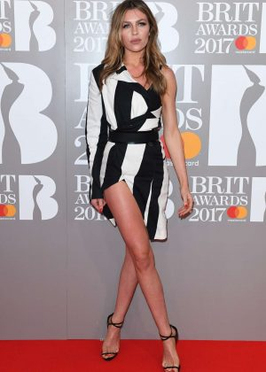Abbey Clancy - BRIT Awards 2017 in London