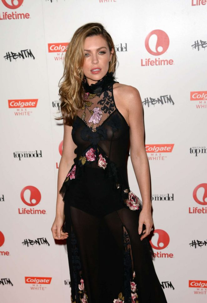 Abbey Clancy - Britains New Top Model Launch in London