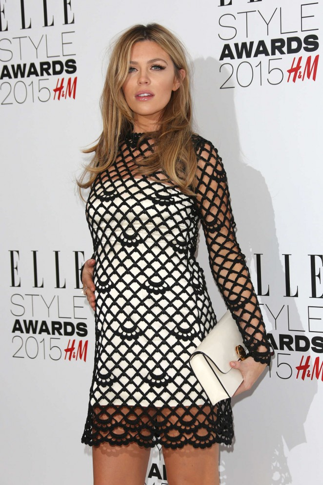 Abbey Clancy - Elle Style Awards 2015 in London