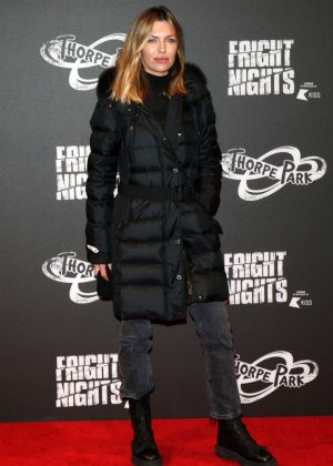 Abbey Clancy - Fright Night at Thorpe Park in Chertsey
