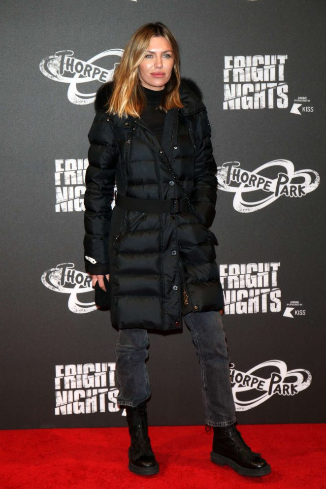 Abbey Clancy – Fright Night at Thorpe Park in Chertsey