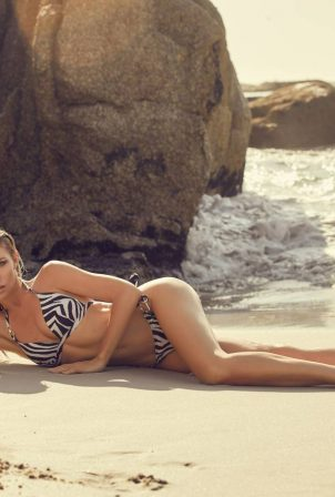 Abbey Clancy - Lipsy Swimwear photoshoot (August 2020)
