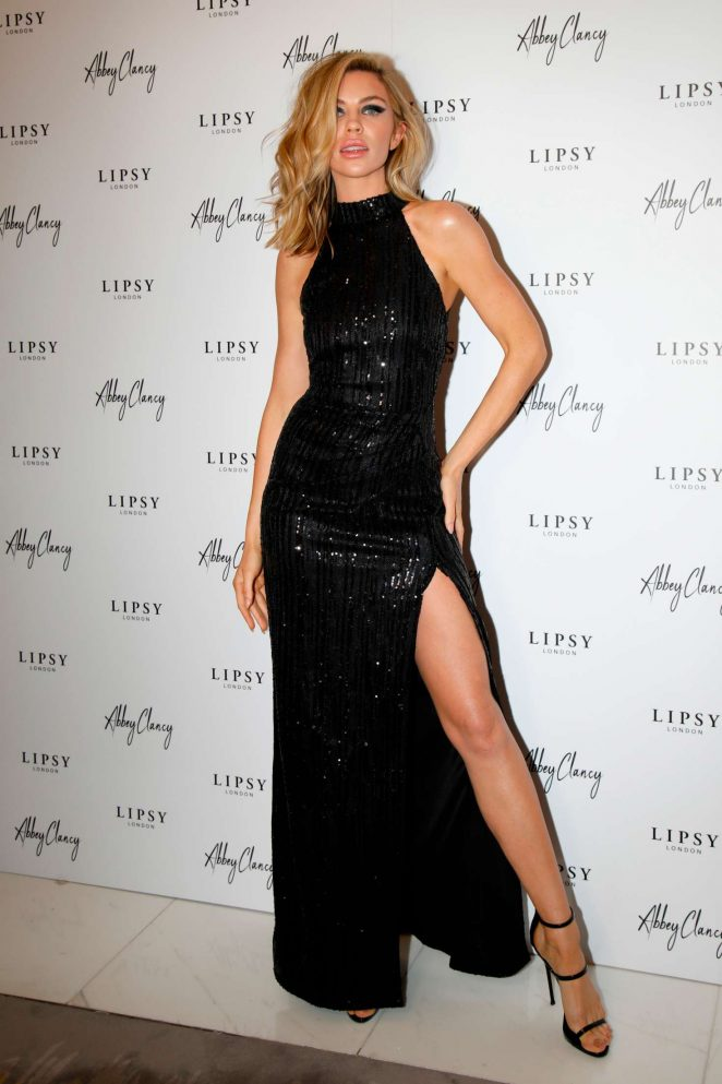 Abbey Clancy – Lipsy x Abbey Clancy Launch in London