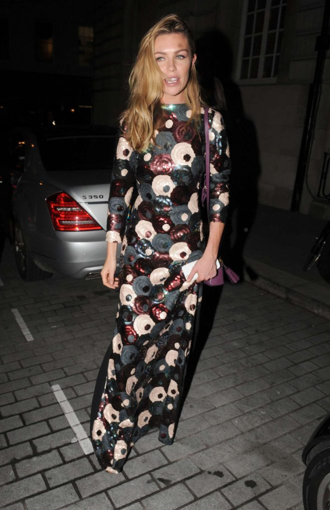 Abbey Clancy - Love Magazine Party at Lou Lou's in London