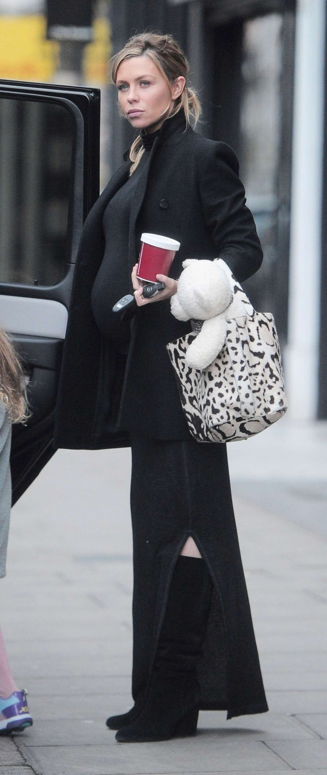 Abbey Clancy out in London -09