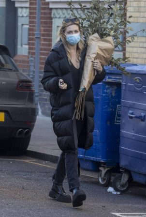 Abbey Clancy - Out in London