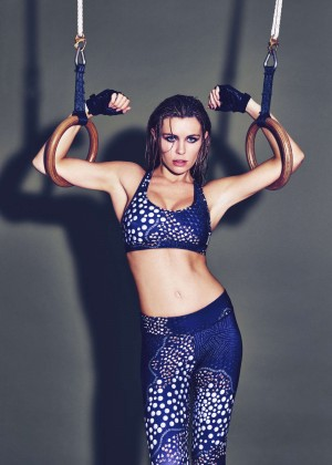 Abbey Clancy - Reebok Autumn/Winter 2015 Collection Campaign