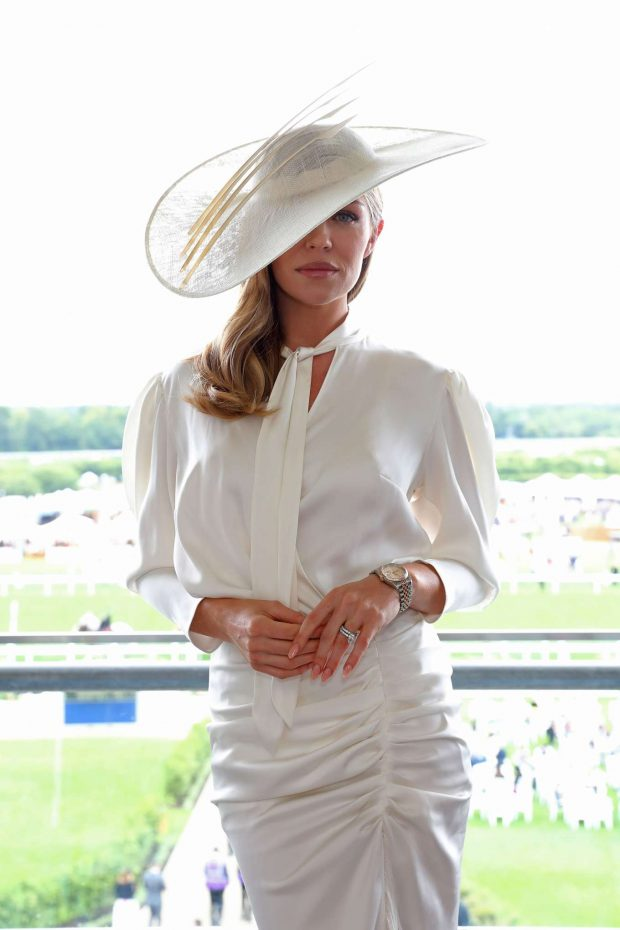 Abbey Clancy - Royal Ascot Fashion Day 3 in Ascot