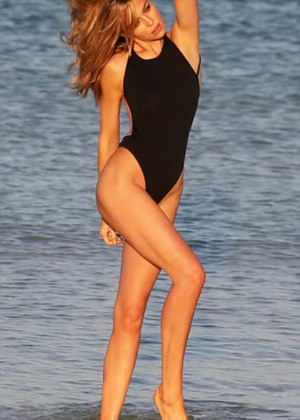 Abbey Clancy: Swimwear Photoshoot -02