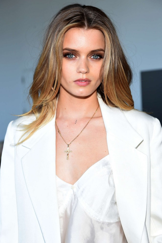 Abbey Lee Kershaw - Calvin Klein 2016 Fashion Show in NYC