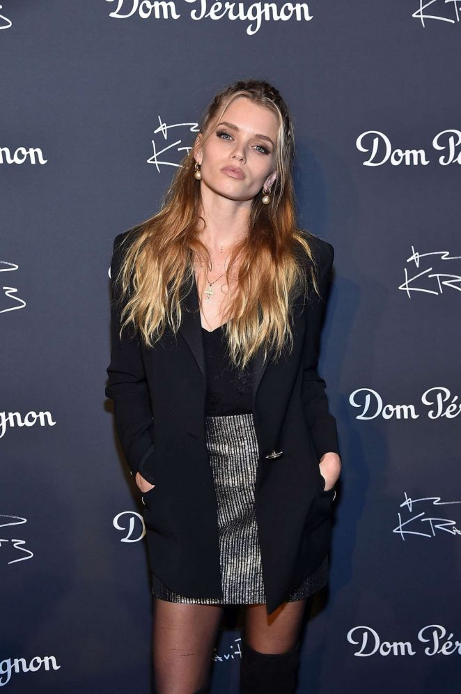 Abbey Lee Kershaw - Dom Perignon and Lenny Kravitz: 'Assemblage' Exhibition in NY