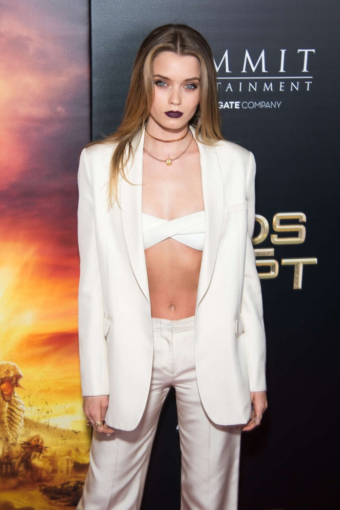 Abbey Lee Kershaw - 'Gods Of Egypt' Premiere in New York