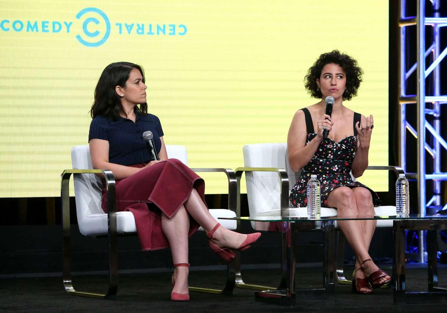 Abbi Jacobson and Ilana Glazer - 'Broad City' TV Show Panel at 2017 TCA Summer Press Tour in LA