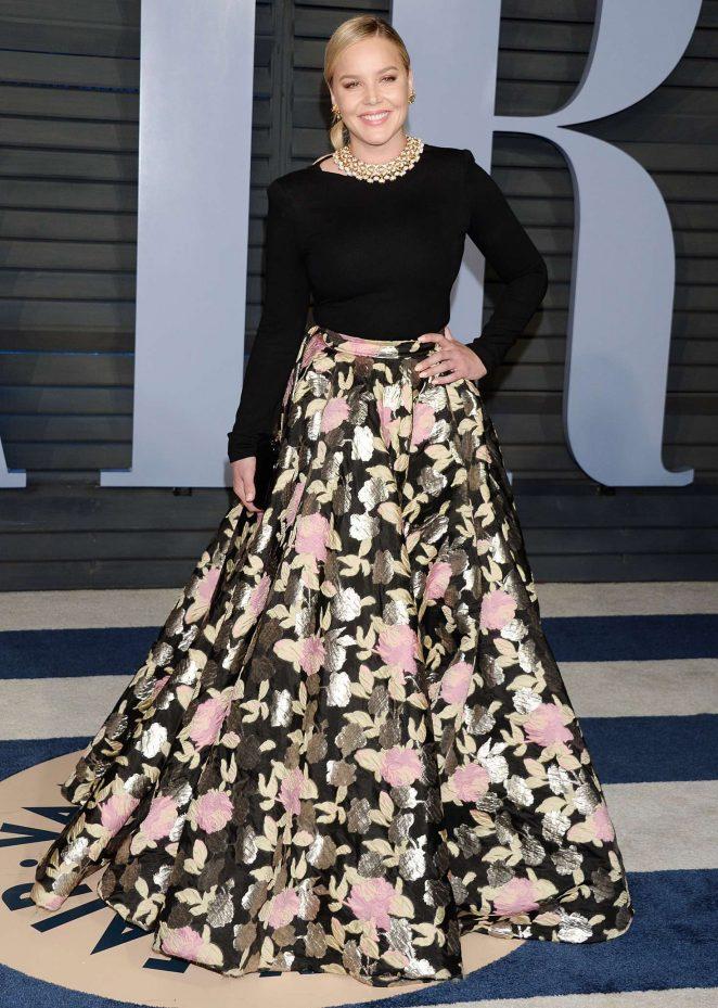 Abbie Cornish - 2018 Vanity Fair Oscar Party in Hollywood