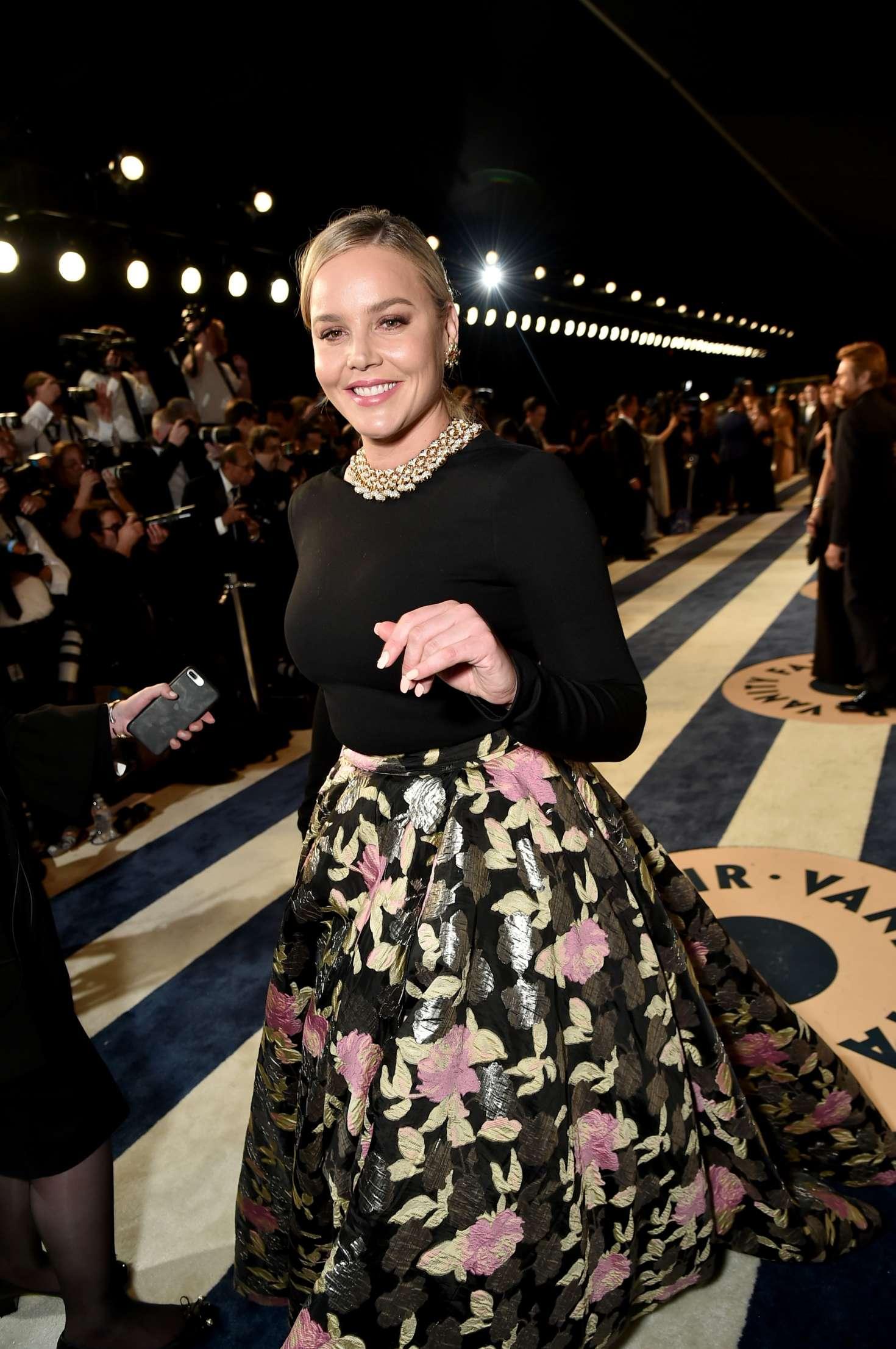 Abbie Cornish 2018 : Abbie Cornish: 2018 Vanity Fair Oscar Party -14