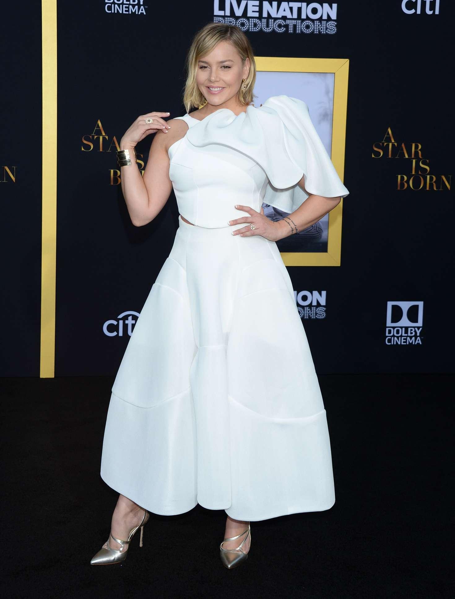Abbie Cornish - 'A Star is Born' Premiere in LA