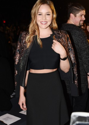Abbie Cornish - BCBGMAXAZRIA Fall 2016 Fashion Show in NYC
