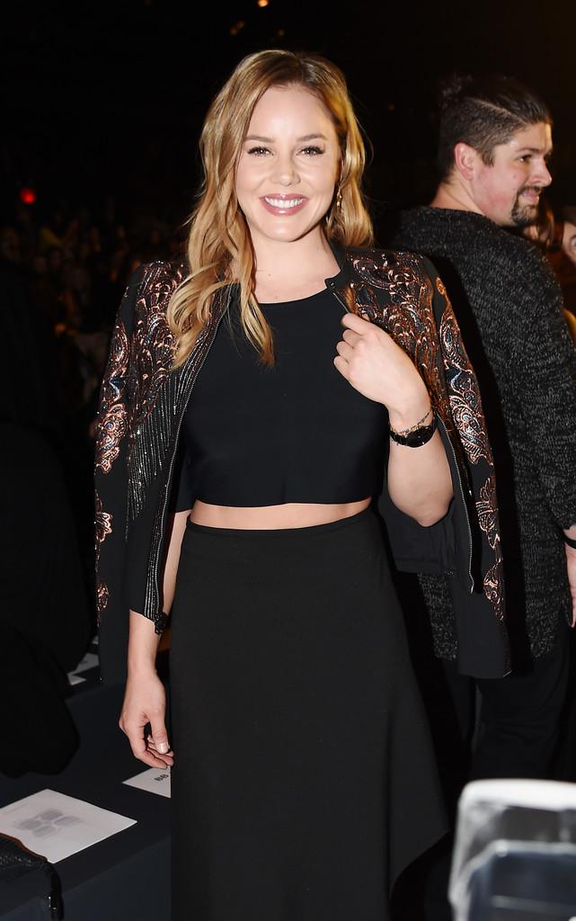 Abbie Cornish - BCBGMAXAZRIA Fall 2016 Fashion Show in NYC