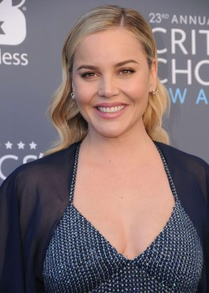 Abbie Cornish - Critics' Choice Awards 2018 in Santa Monica