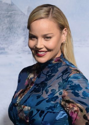 Abbie Cornish - 'Geostorm' Premiere in Los Angeles