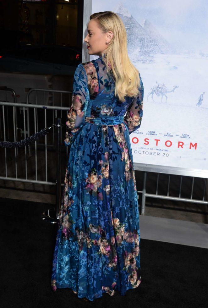 Abbie Cornish: Geostorm Premiere in Los Angeles -07