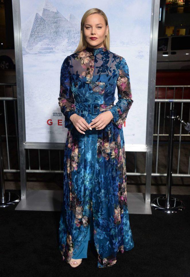 Abbie Cornish: Geostorm Premiere in Los Angeles -11