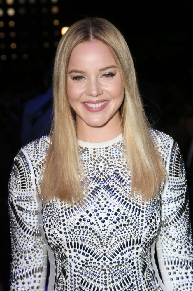 Abbie Cornish - Herve Leger Fall 2016 Fashion Show in NYC