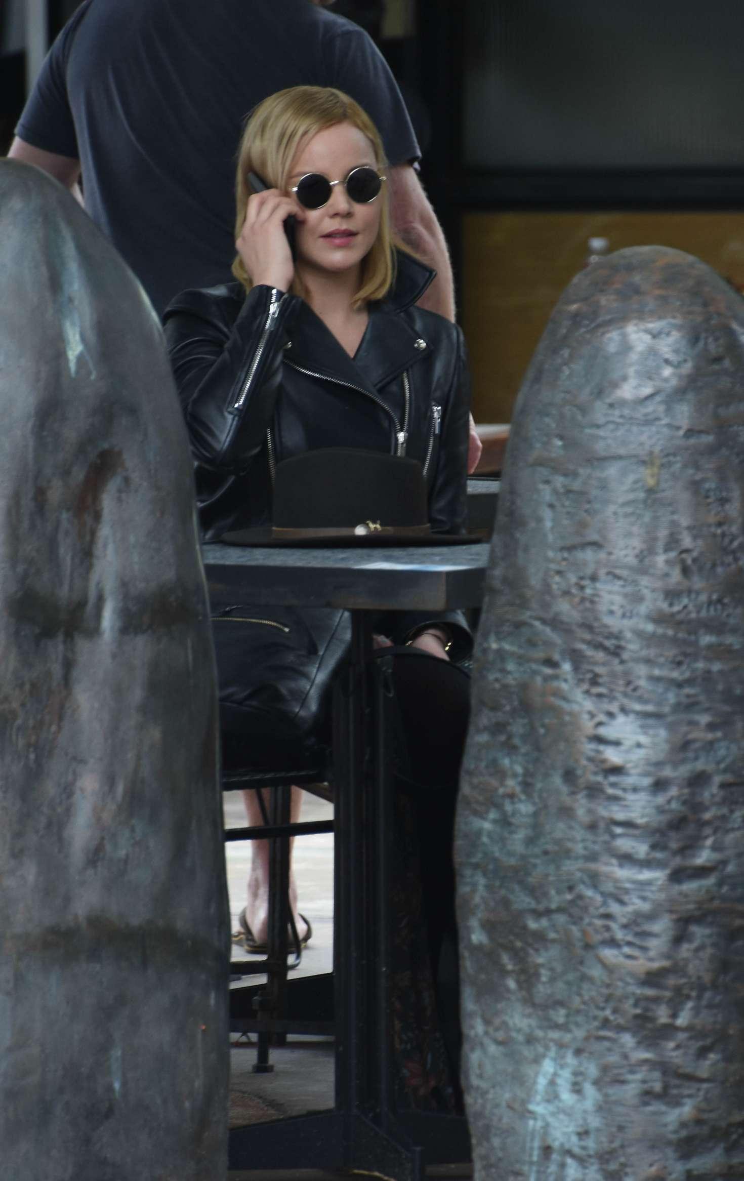 Abbie Cornish 2016 : Abbie Cornish in Long Dress arrives in Sydney -13