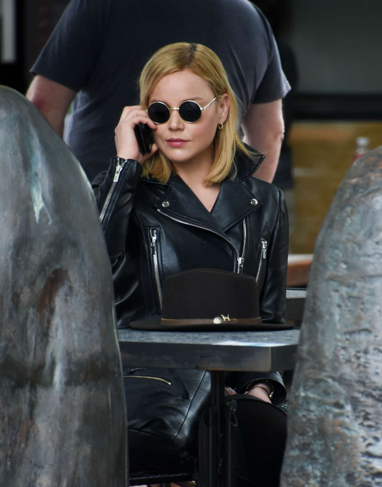 Abbie Cornish 2016 : Abbie Cornish in Long Dress arrives in Sydney -14