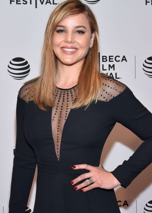 Abbie Cornish - 'Lavender' Premiere at 2016 Tribeca Film Festival in New York