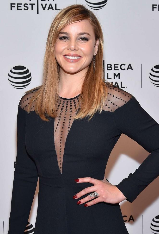 Abbie Cornish - 'Lavender' Premiere at 2016 Tribeca Film Festival in New York