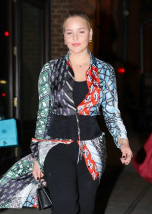 Abbie Cornish - Leaving her hotel in New York