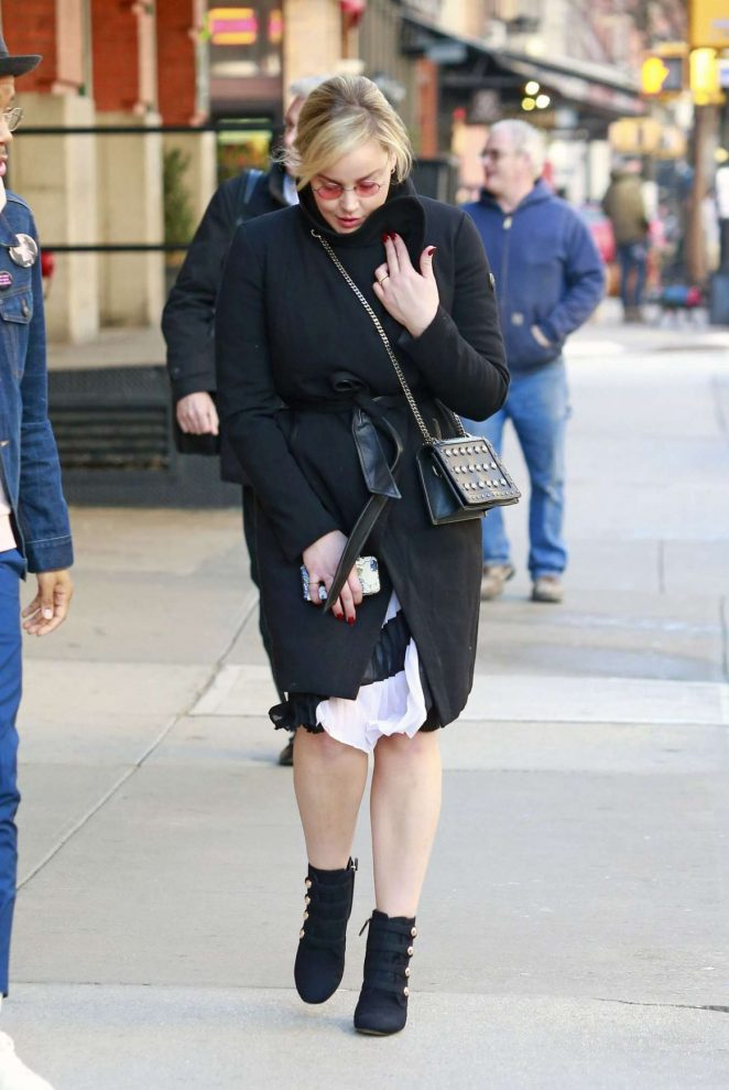 Abbie Cornish out in New York