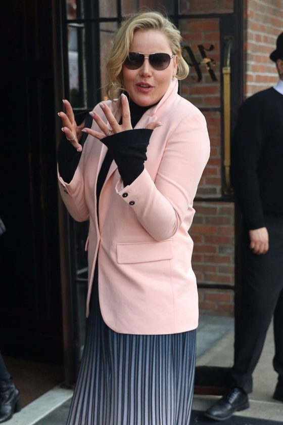 Abbie Cornish - Outside The Bowery Hotel in NYC