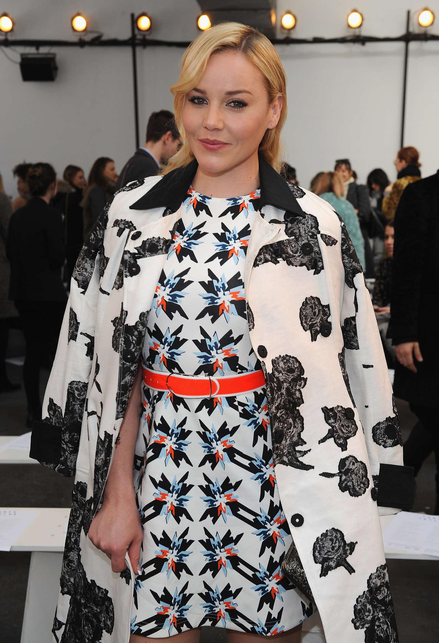 Abbie Cornish - Tanya Taylor Fashion Show 2015 in NY