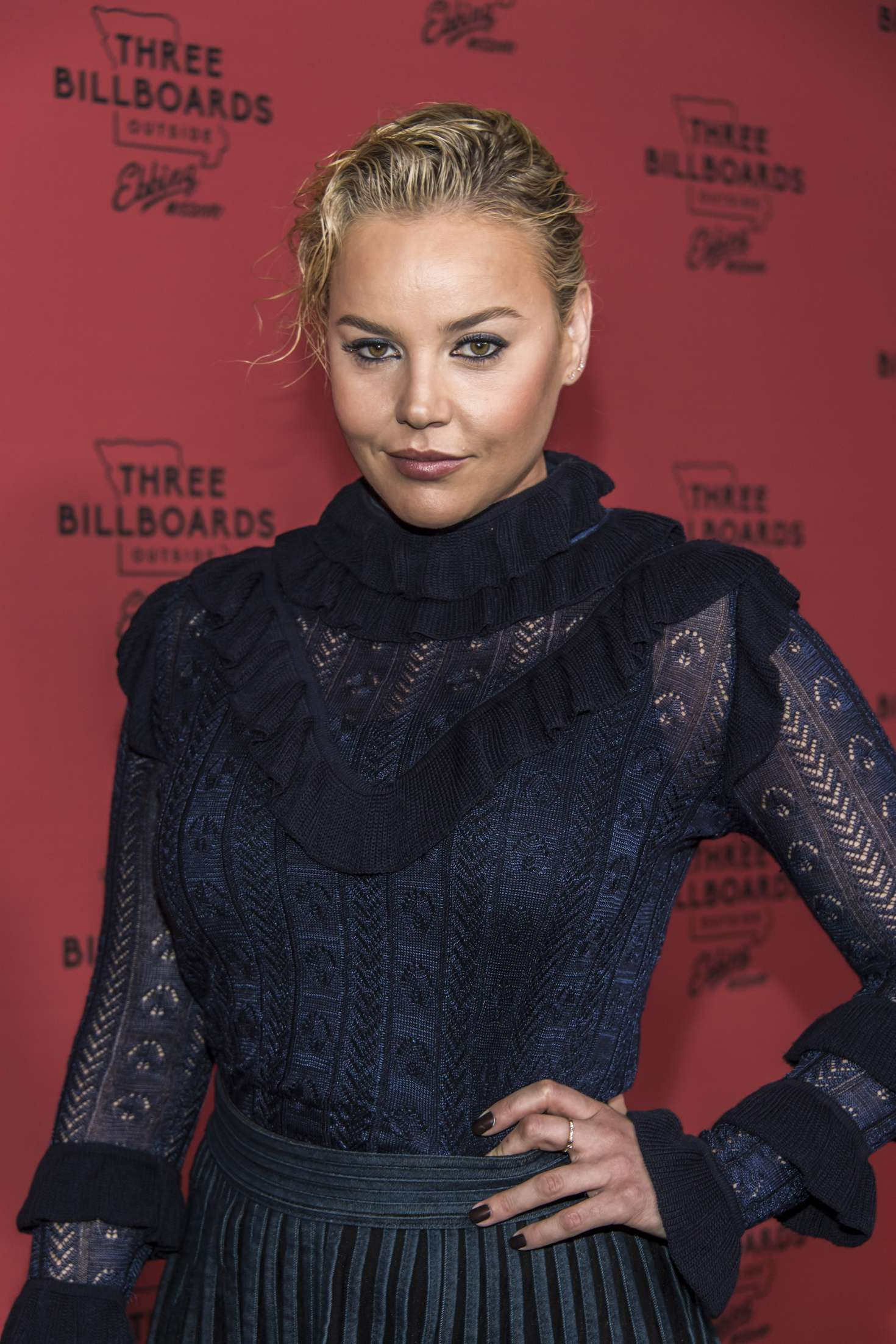 Abbie Cornish - 'Three Billboards Outside Ebbing, Missouri' Premiere in LA