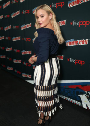 Abbie Cornish - 'Tom Clancy's Jack Ryan' panel - 2017 New York Comic Con