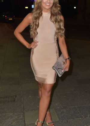 Abbie Holborn - Enjoys Boxing Day night in Newcastle