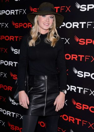 Abbie Owen - SPORTFX Cosmetic and Sports Launch Party in London