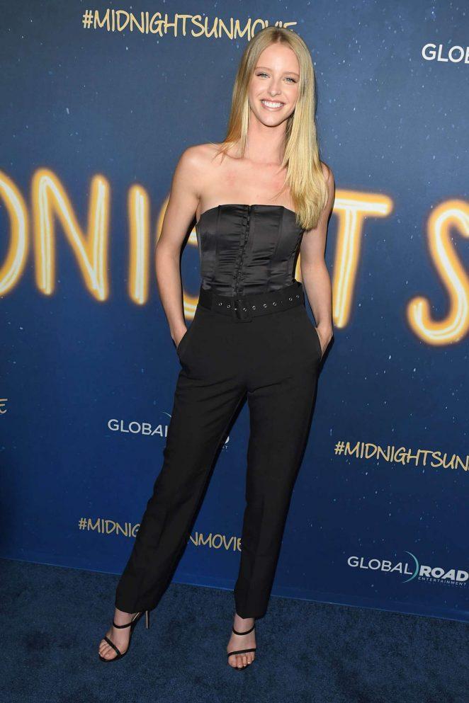 Abby Champion – 'Midnight Sun' Premiere in Los Angeles