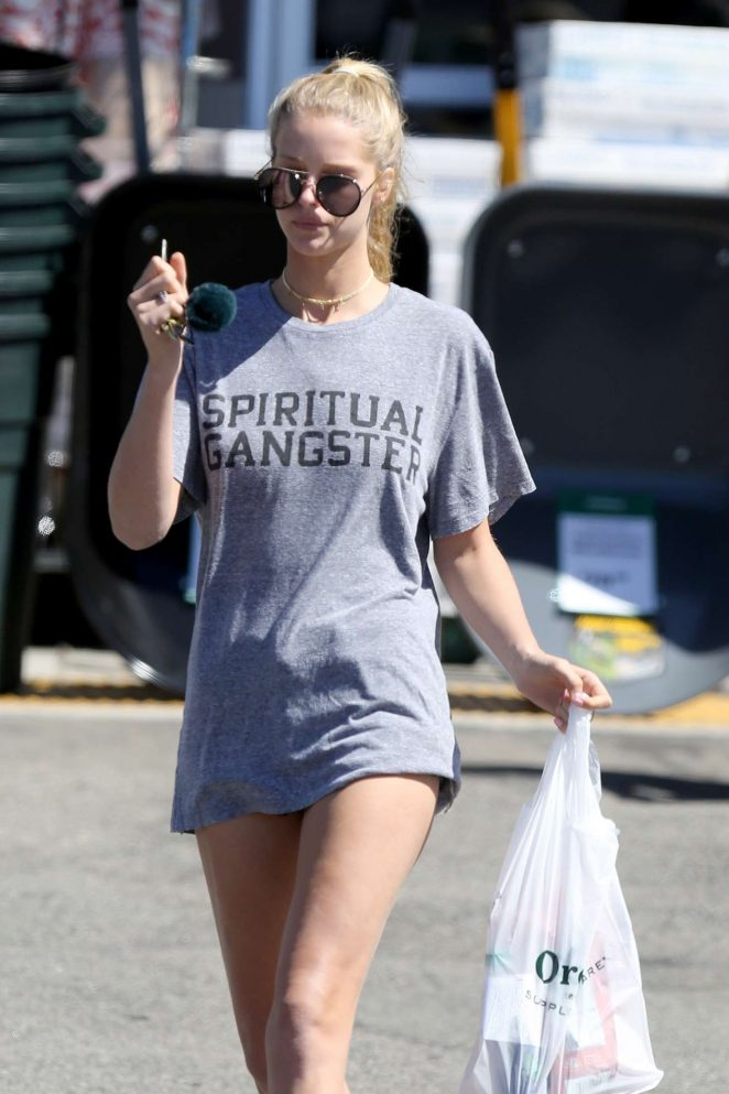 Abby Champion out in Los Angeles