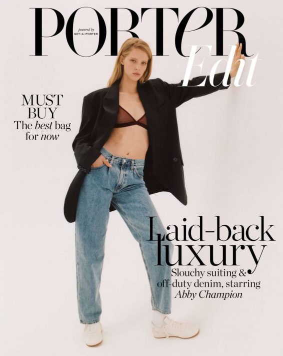 Abby Champion - The Edit by Net-A-Porter Magazine (July 2019)