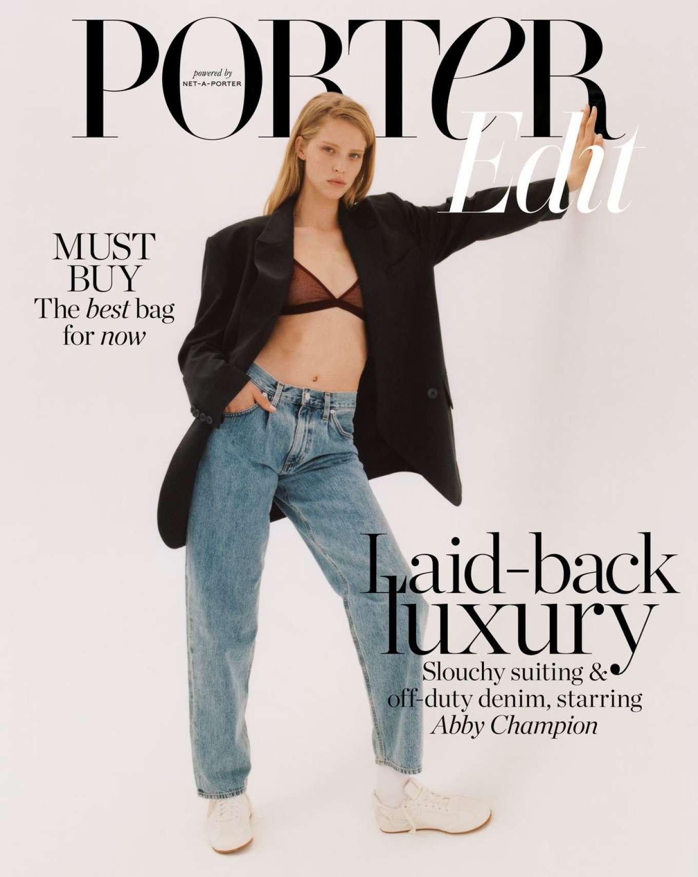 Abby Champion - The Edit by Net-A-Porter Magazine (July 2019)