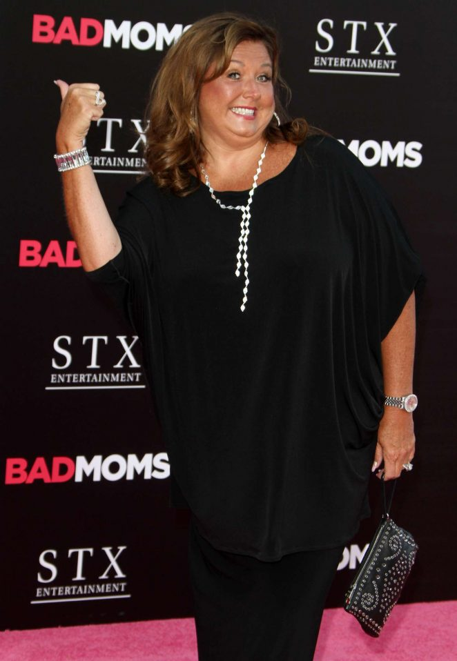 Abby Lee Miller - 'Bad Moms' Premiere in Los Angeles