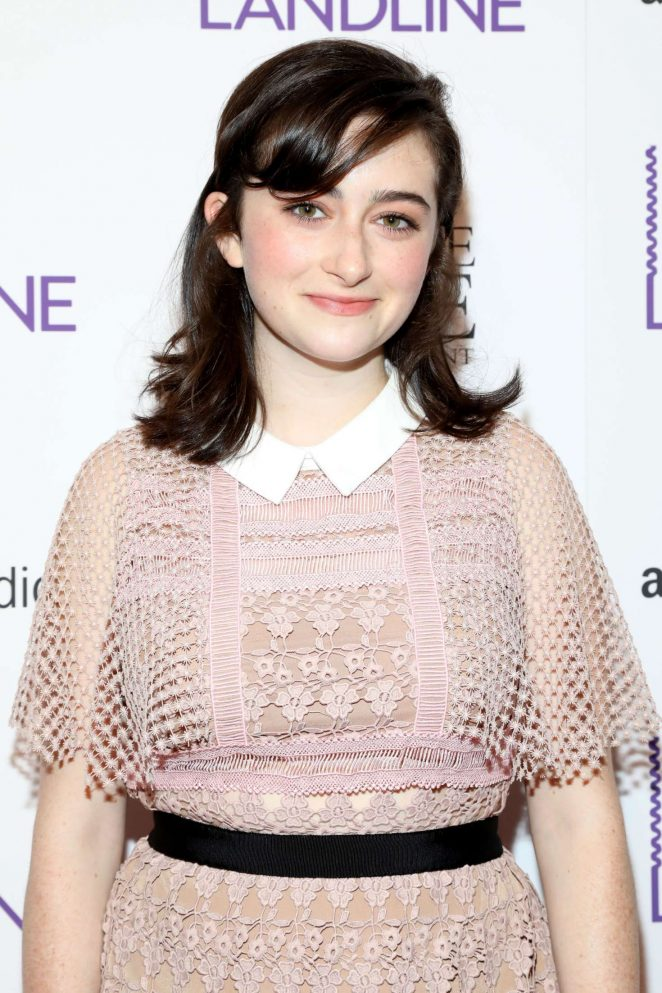 Abby Quinn - 'Landline' Premiere in New York