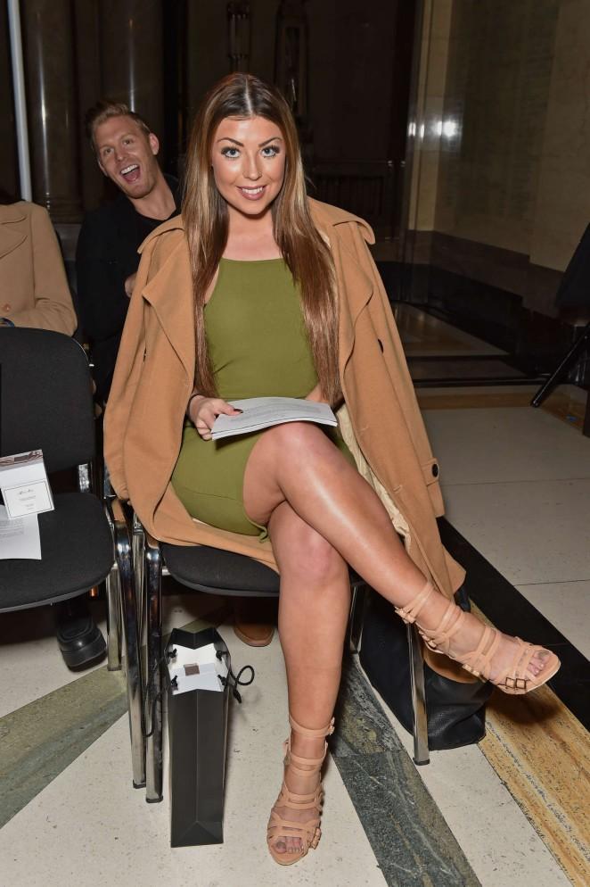 Abi Clarke - Ashley Isham Fashion Show 2015 in London