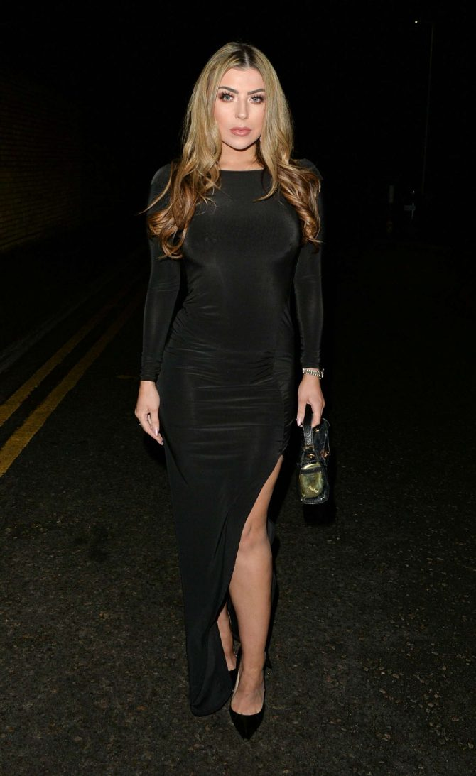 Abi Clarke – Night out at Sheesh in Essex