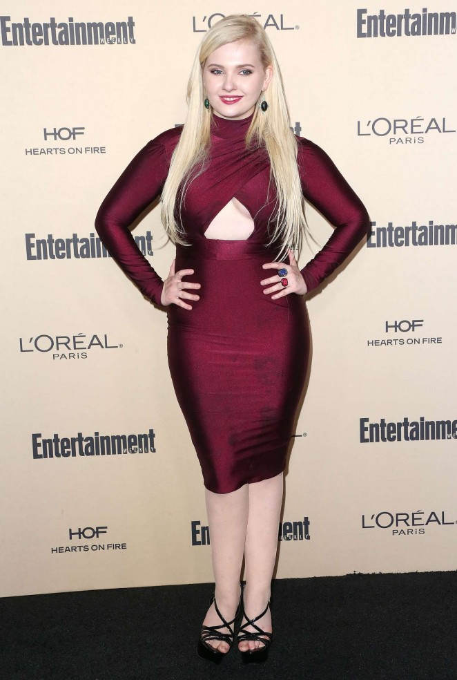 Abigail Breslin - 2015 Entertainment Weekly Pre-Emmy Party in West Hollywood