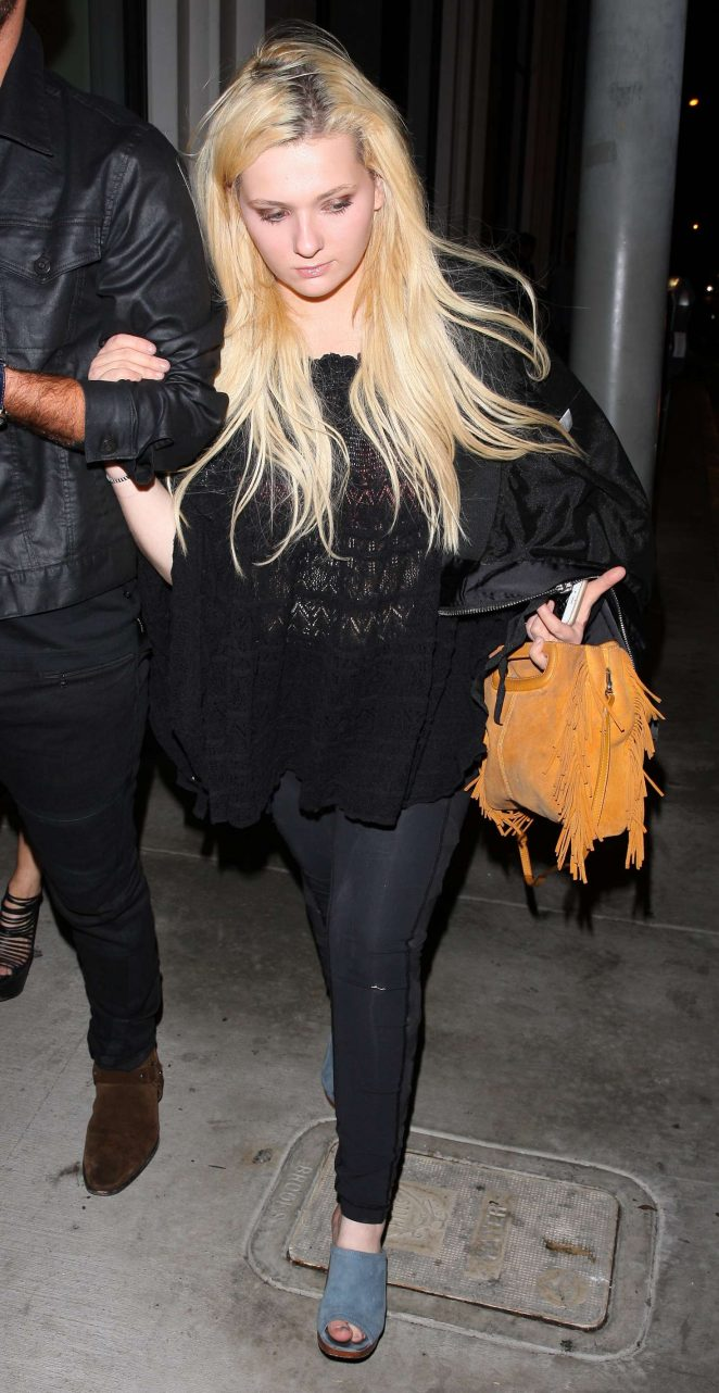 Abigail Breslin at Catch Restaurant in West Hollywood