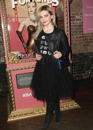 Abigail Breslin - Benefit Cosmetics And BaubleBar Collaboration Party in NYC